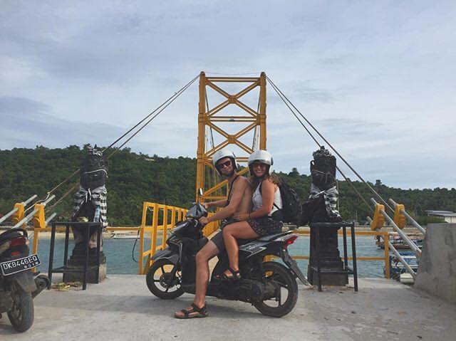 Bali bridge adventure